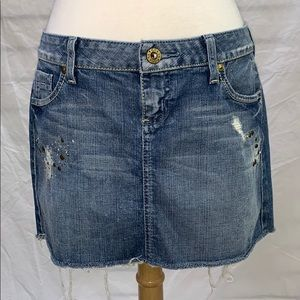 Guess Jeans Denim Mini Skirt